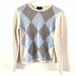 Brooks Brothers Plaid sweater size small